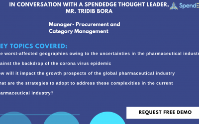 Is the Global Pharmaceutical Industry Held Hostage by the Deadly Coronavirus? SpendEdge's Tridib Bora Offers Insightful Answers to this Imposing Query