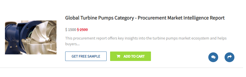 Turbine pumps