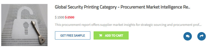 Global Security Printing Category
