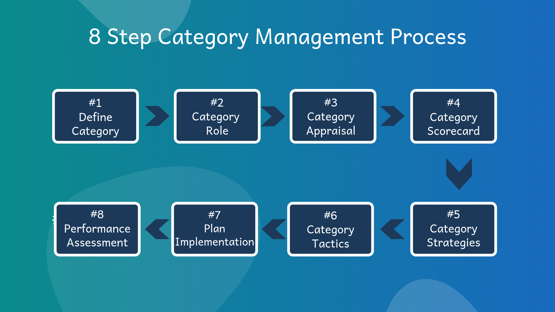 category 8 step category management process enabling a 3160